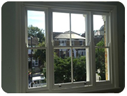 Box sash windows and traditional doors are a main feature of many traditional houses